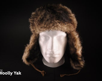 The Woolly Yak 'Classic' - warm winter fur for your head!
