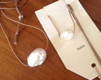baroque fresh water pearl nechlace