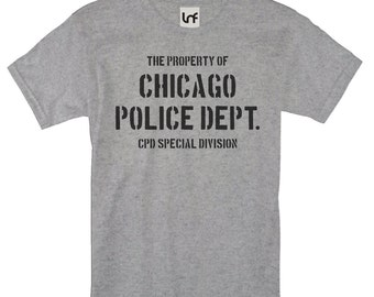 Chicago Police Department Men's T-Shirt (SB1162)