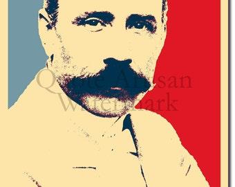 Edward Elgar Original Art Print - Photo Poster Gift