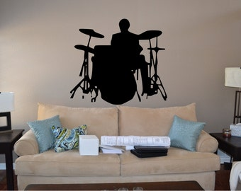 Drummer Wall Decal - misc (12)