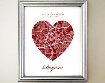 Dayton Heart Map