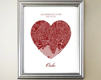 Oslo Heart Map