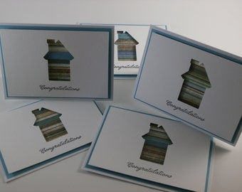 Congratulations New Home card bundle (set of 5)