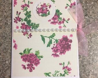 Custom notepad holder