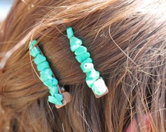 Cowgirl hair clips
