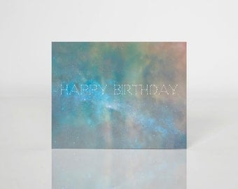 Cosmic Birthday Card