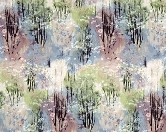 Enchanted Pines Fabric Forest Flower Dawn by McKenna Ryan Robert Kaufman High Quality Cotton