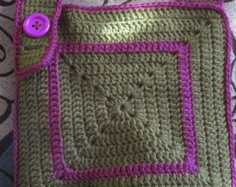 Crocheted Crossbody Purse
