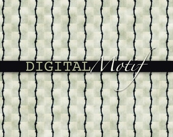 Black Stripe Digital Paper, Instant Download, Printable Black and Mint Decoupage Paper - 300 PPI - JPG