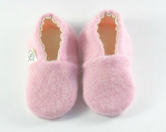 Coming Home Outfit- Baby Shower Gift- Eco Baby Gift- Newborn Shoes- Cashmere Baby Gift
