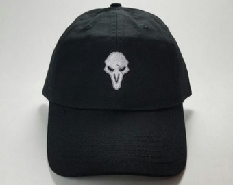 Overwatch Reaper Dad Cap