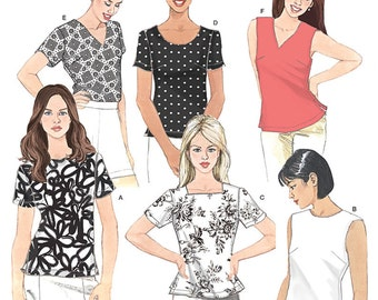 Simplicity Pattern 8061 Misses' Top