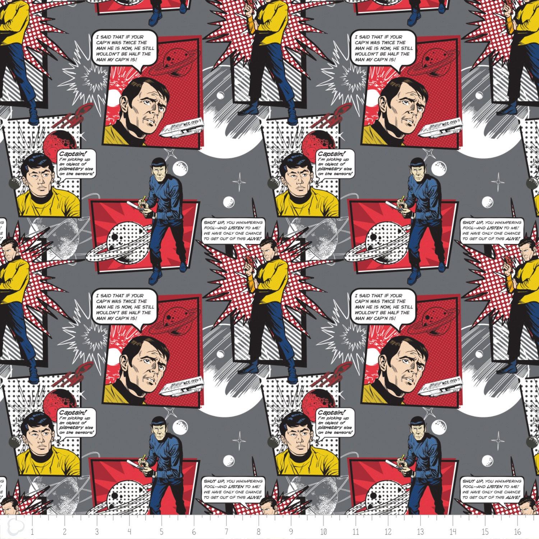 Star trek galaxy pop quotes in iron camelot fabrics for Galaxy fabric canada