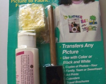 Transfer Kit for photos to fabric  Picture This by Plaid