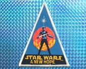 1977 Star Wars Patch! New! Great Condition! RARE! A New Hope! Club Exclusive! Embroidered Iron On! Vintage Retro Great Gift