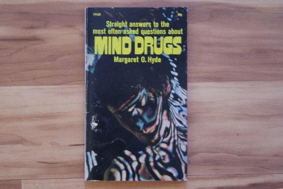 1970 Vintage Drug Book Mind Drugs Marijuana Weed Pot