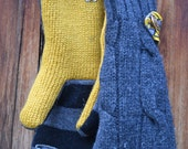 Mittens made from Upcycled Wool/Blend Sweaters