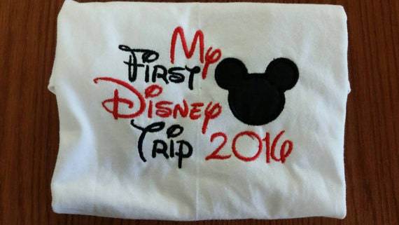 Adult First Disney Trip Shirt Best Cars 2018