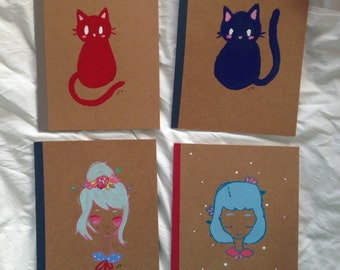 Hand Painted Notebooks SALE