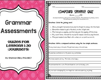 30 Grammar Assessments