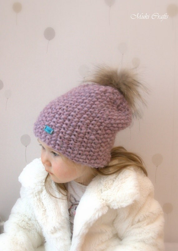 KNITTING PATTERN basic slouchy hat Artio (baby, kids, teen, adult sizes)