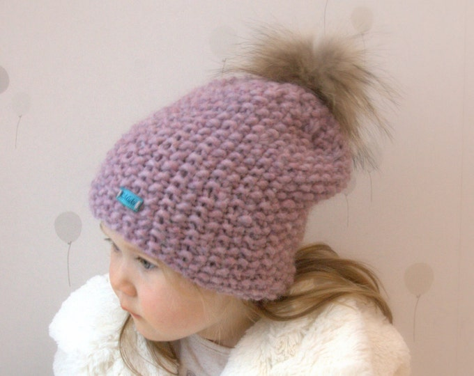 KNITTING PATTERN basic slouchy hat Artio (baby, kids, teen, adult sizes)