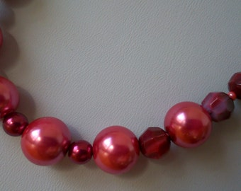 passion red necklace - Made in FRANCE