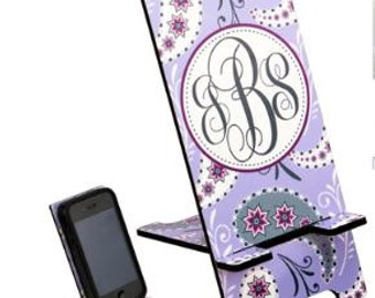 Personalized Hardboard Image Stand for Phone or Ipod