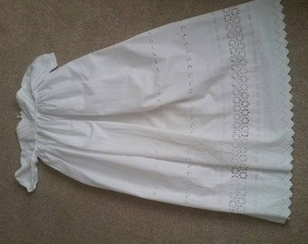 Vintage Christening Gown circa 1920. Family heirloom