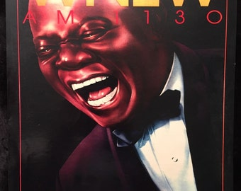 Vintage Louis Armstrong promo