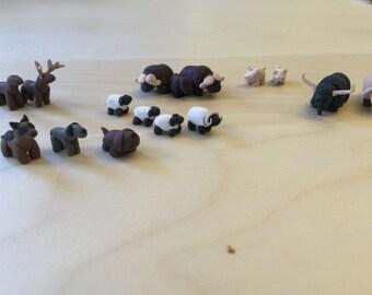 Polymer Clay Farm Animals