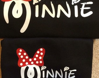 Minnie mouse mommy and minnie me set.