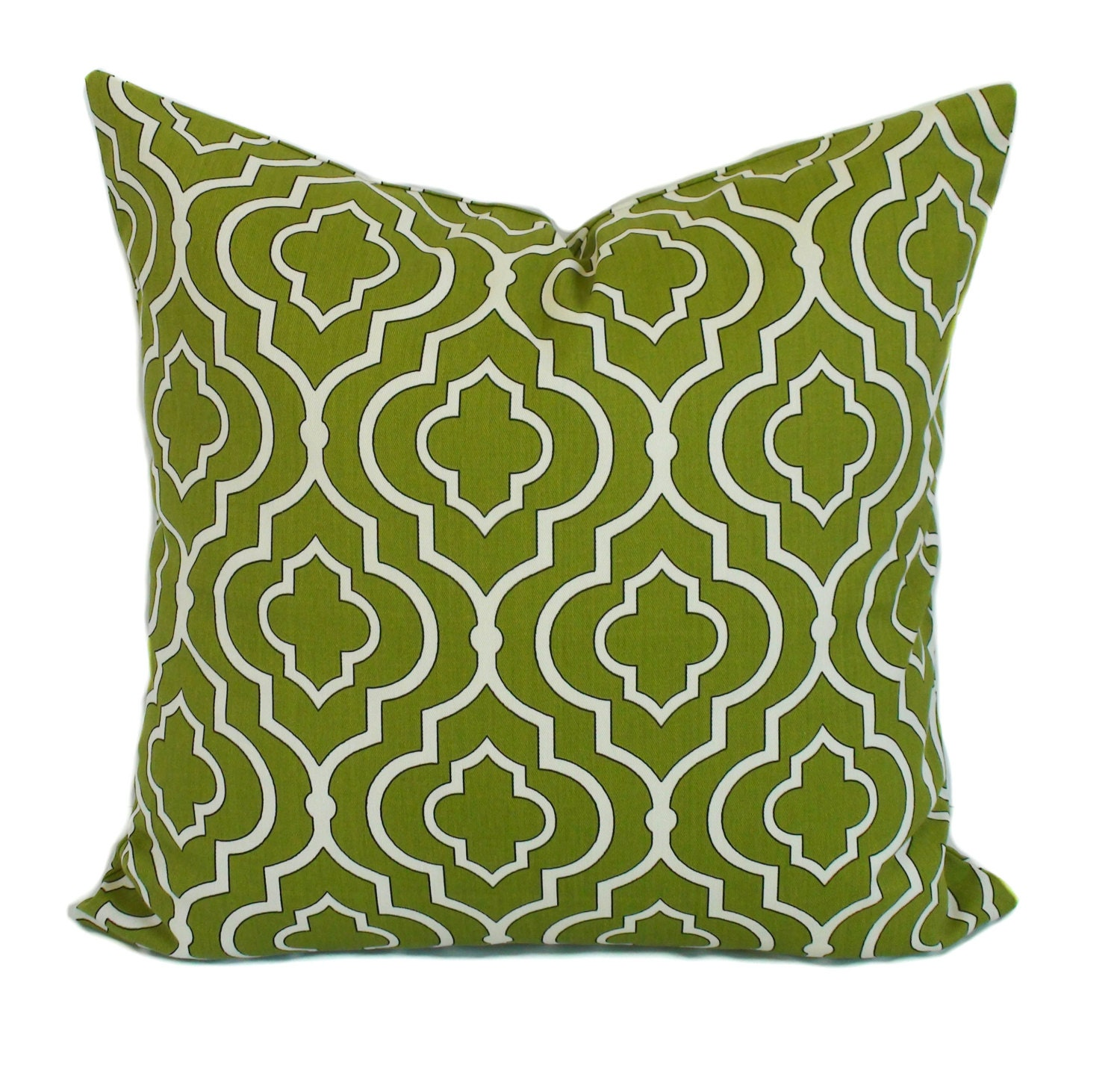 Decorative Pillows For Bed Green : Green pillow covers Throw pillows Toss pillow by PillowCorner