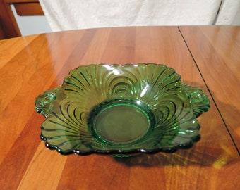 Cambridge Caprice Emerald Bowl