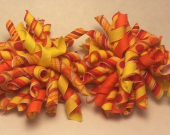 Korker Hair Bow set
