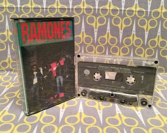 Halfway to Sanity by The Ramones Cassette Tape Punk Rock Vintage