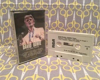 Golden Years by David Bowie Cassette Tape rock