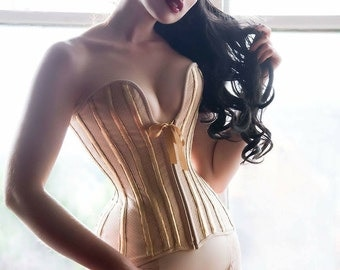 Corset Pattern! Lucille - a modern 16 panel over-bust 'plunge' corset pattern size (UK) 10-20, (US) 6-16