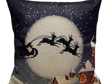 Santa Clause is Coming to Town - Pillow Cover