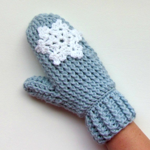 Crochet Pattern Cable Stitch Mittens Ladies teens knitted look
