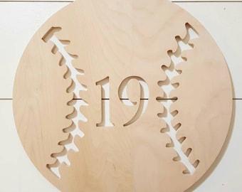 Baseball Cutouts Etsy