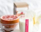 Soy Candle: Breakfast in Bed (Grapefruit & Gardenia)