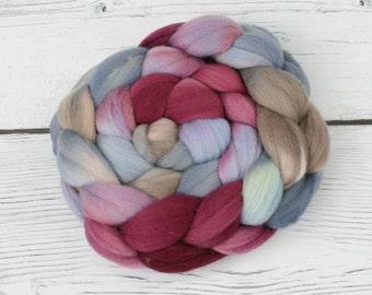 Polwarth - Tussah Silk  Spinning Fiber  - As You Wish