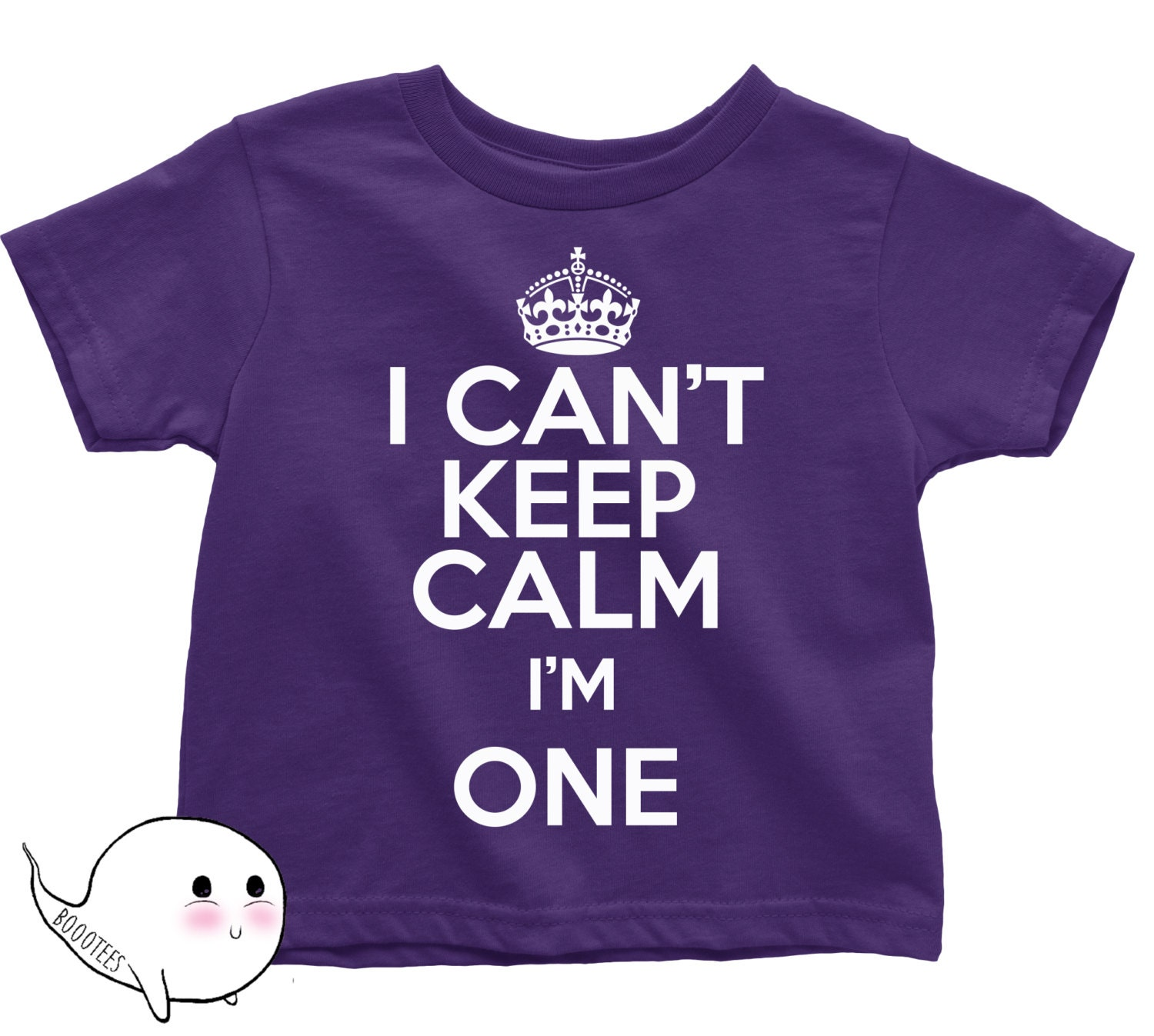 First Birthday Shirt I CAN T KEEP CALM I m e T Shirt