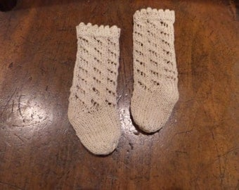 Hand Knitted Doll Socks