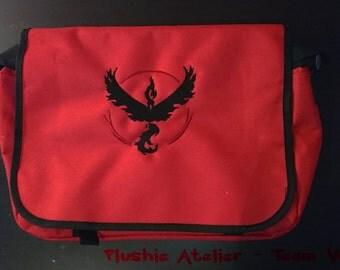 Pokémon Team Valor Messenger Bag
