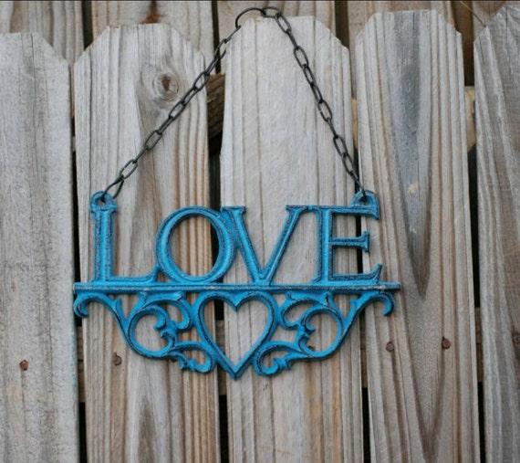 Wall decor love decor rustic wall decor faith love hope for Faith decor