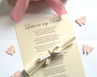 Wedding Gifts For Bride From Groom Uk : wedding gift for bride from groom on wedding day personalised wedding ...