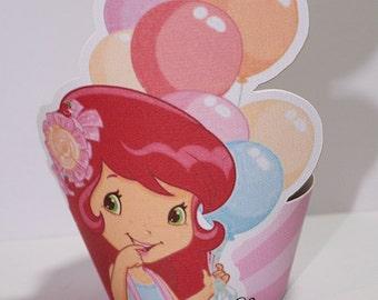 Strawberry Shortcake Cupcake Wrapper-Strawberry Shortcake-Cupcake Wrapper